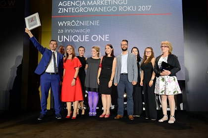 Unique One Agencją Marketingu Zintegrowanego 2017
