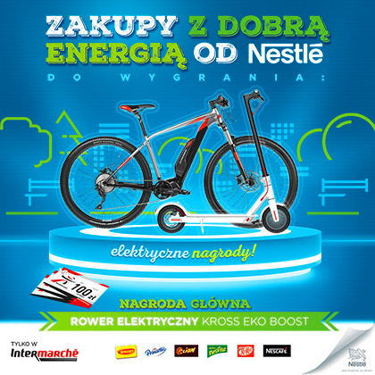 Contest under the slogan ,,Zakupy z dobrą energią od Nestle