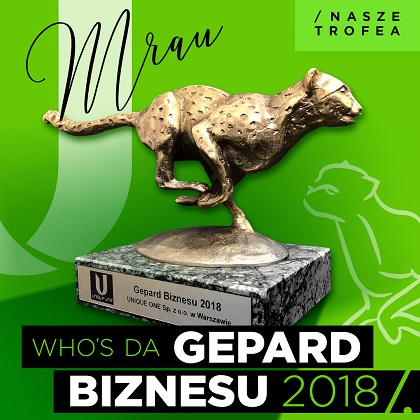Gepard Biznesu 2018 – To my!
