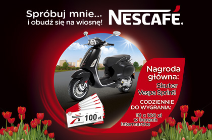 Nescafe contest in Intermarche