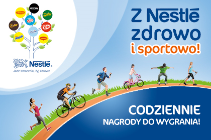Healthy and sporty with Nestle in the Intermarche