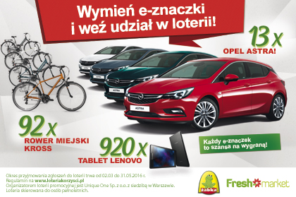 Żabka and Freshmarket Lottery